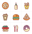 draw icons 3x3 00075 vector image