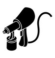 air paint sprayer icon simple style vector image vector image