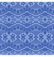 Blue seamless lace vector