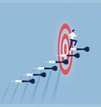 business target goal and success vector image vector image