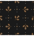 Floral pattern seamless minimal background vector image vector image
