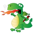 Jalapeno the Dragon vector image vector image