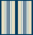 vertical bluish stripes seamless print vector image vector image