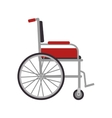wheelchair medical equipment vector image vector image