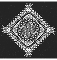 Abstract ornament on dark background vector image
