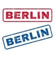Berlin Rubber Stamps vector image vector image