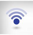 Creative Wireless Symbol vector image vector image