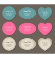 Design Retro Label Frame with Bow vector image vector image