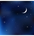 Night sky scene vector | Price: 1 Credit (USD $1)