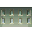 Retro Building Facade vector image