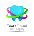 tooth dental logo design Template for your vector image