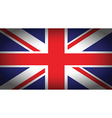uk faded flag vector image vector image