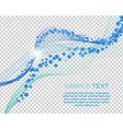 Water Lines Design vector image vector image