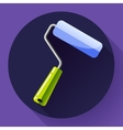 Paint Roller Icon home repair apartments symbol vector image