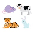 Chinese astrology signs set vector image vector image