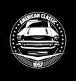 classic car 01 vector image