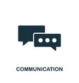 communication icon symbol creative sign from seo vector image vector image