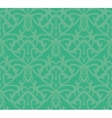 Elaborate Bluish-Green Seamless Pattern Background vector image
