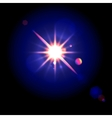 lens flare vector image vector image
