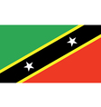 Saint Kitts Nevis vector image
