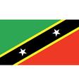 Saint Kitts Nevis vector image vector image