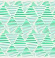 seamless triangles pattern vector image vector image