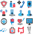 Set of medicine icons - part 1 vector image vector image
