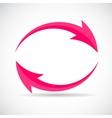 Arrow Icon Sign vector image vector image