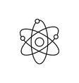 atoms icon vector image
