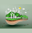 concept of eco vector image vector image