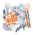 cool abstract drawing modern vector image
