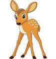 cute baby deer vector image