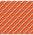 Design seamless decorative diagonal pattern vector image