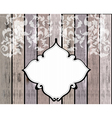 Floral ornament over wood