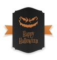 Halloween realistic Party Poster Template vector image