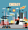 industry power background vector image vector image