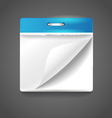 Paper diary vector image