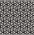seamless triangle lines mosaic pattern vector image