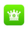 spica icon digital green vector image vector image