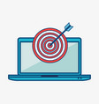 technology-related objects icon vector image