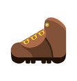 trekking boot icon image vector image