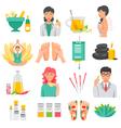 Alternative Medicine Icons Set vector image