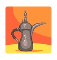 Ancient Oil Lamp Famous Touristic Attraction Of vector image