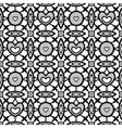 Black seamless lace vector image