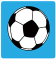 Football ball soccer1 vector image