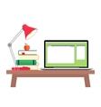 online education flat horizontal banner set vector image vector image