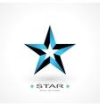symbol star vector image vector image