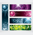 banners disco vector image vector image