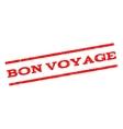 Bon Voyage Watermark Stamp vector image vector image