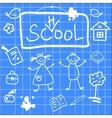 fun back to school sketch vector image vector image